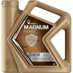 Масло Роснефть Magnum Maxtec 10W40 SL/CF (4л) п/с